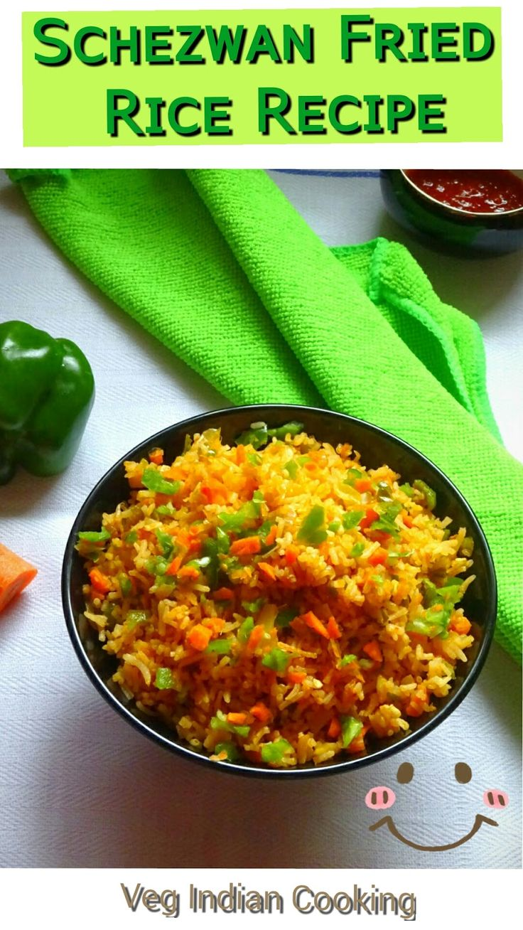 Veg Schezwan Fried Rice