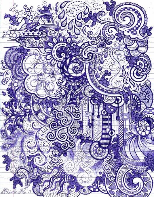 Club de art journal de Québec : Zentangle 101