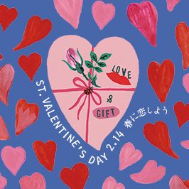 PARCO LOVE& GIFT White day 春に恋しよう