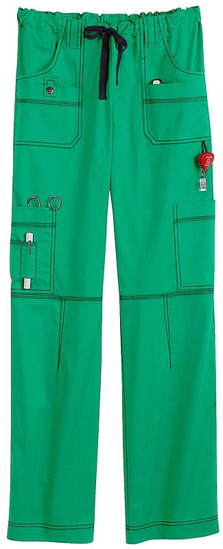 Okay, now these are some useful, like the bright green color too, nice for ER Scrubs - Dickies Youtility 9 Pocket Scrub Pant | Dickies Gen Flex Scrubs | Dickies Uniforms | www.LydiasUniforms.com