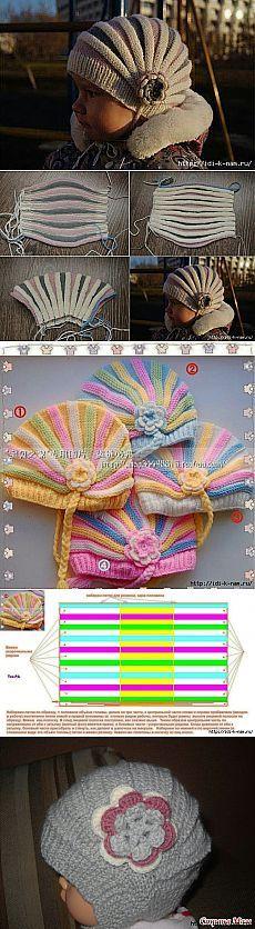#Mütze #Mühlrad #Querrippen #Knitulator #sammelt #Ideen