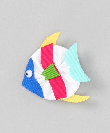 Take a look at this Fish Bow by Picture Perfect Hair Bows on #zulily today!Perfect Hair, Ribbons Sculpture, Hairbows Ideas, Bows Zulilyfinds, Animal Bows, Fish Bows, Hair Bows, Hair Accessories, Crafts Sewing