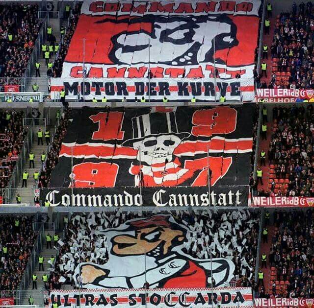 commando cannstatt hooligans