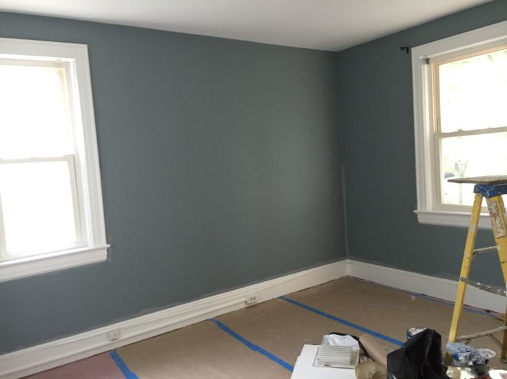 Cloudy Sky Benjamin Moore Daytime Living Room Dining