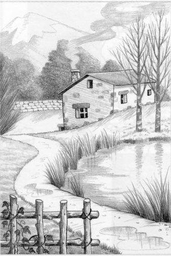 Landschaftszeichnungen
