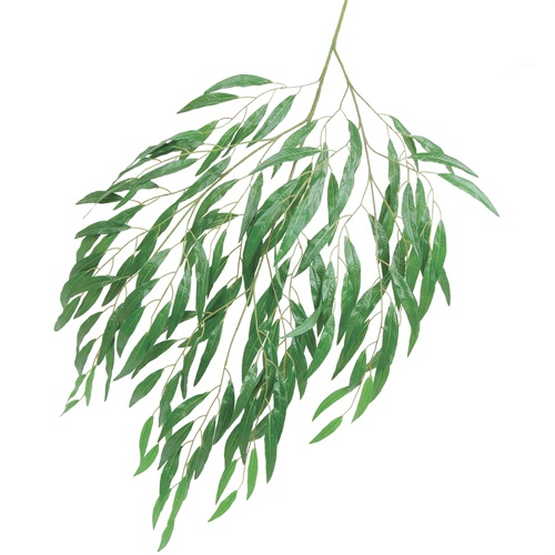 "willow tree branch | Silk Weeping Willow Tree Branch 46"" x150 Wide Leaves"
