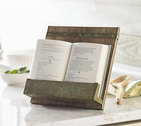 Rustic Cookbook Holder