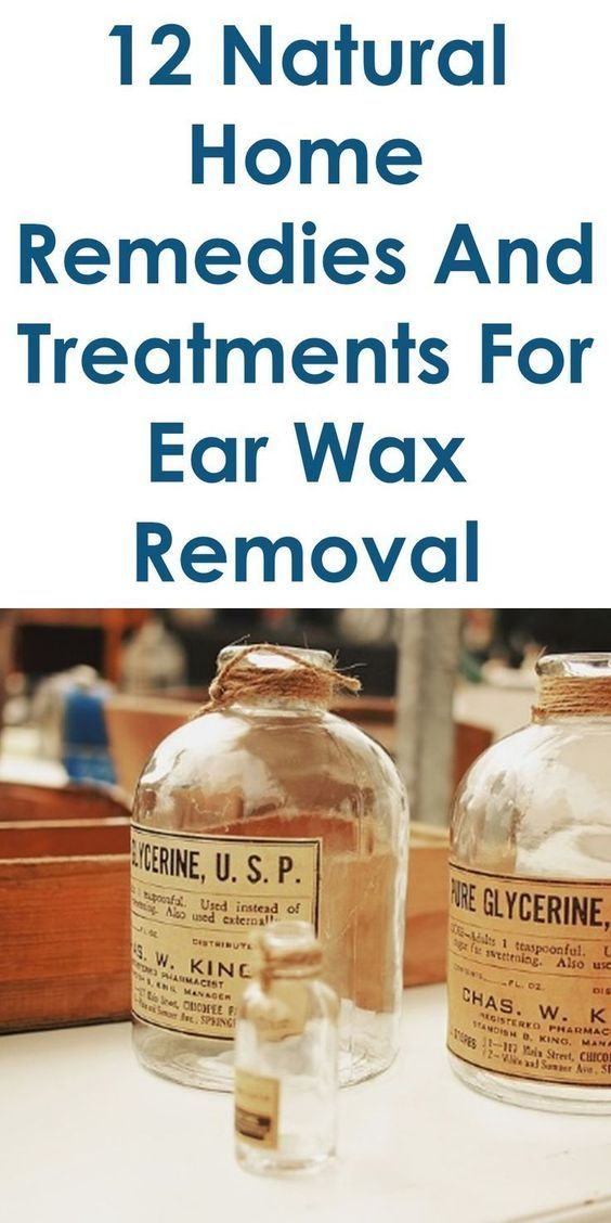 The 25 best clean ears with peroxide ideas on pinterest 12 quality home remedies for ear wax removal ccuart Images