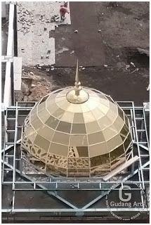 Kubah Masjid Namira Lamongan