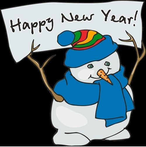 Funny Snowman Happy New Year Images | Events | Pinterest ...