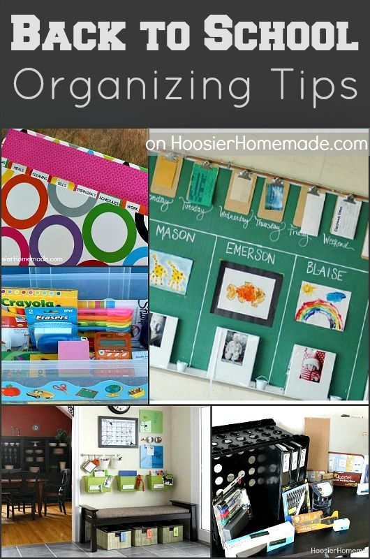 50 best back to school ideas images on pinterest school ideas online schooling and schools - Back to school organization ...