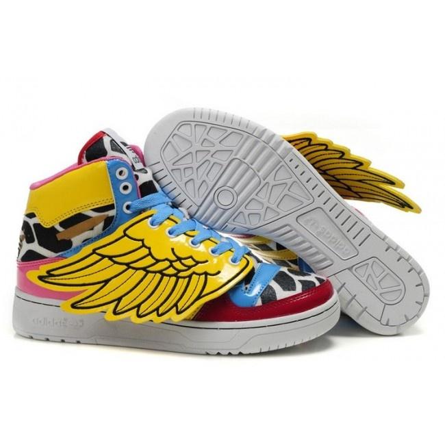 Femmes adidas ObyO Jeremy Scott x 2NE1 JS Wings Collage € 94.29 http://www.jeremyscottvip.com/fr/