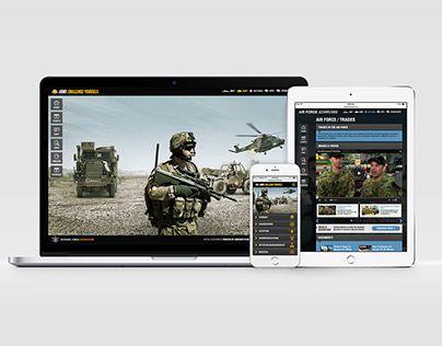 "@Behance portfolio: ""Australian Defence: Career Portal"" http://on.be.net/1XpIxxR"