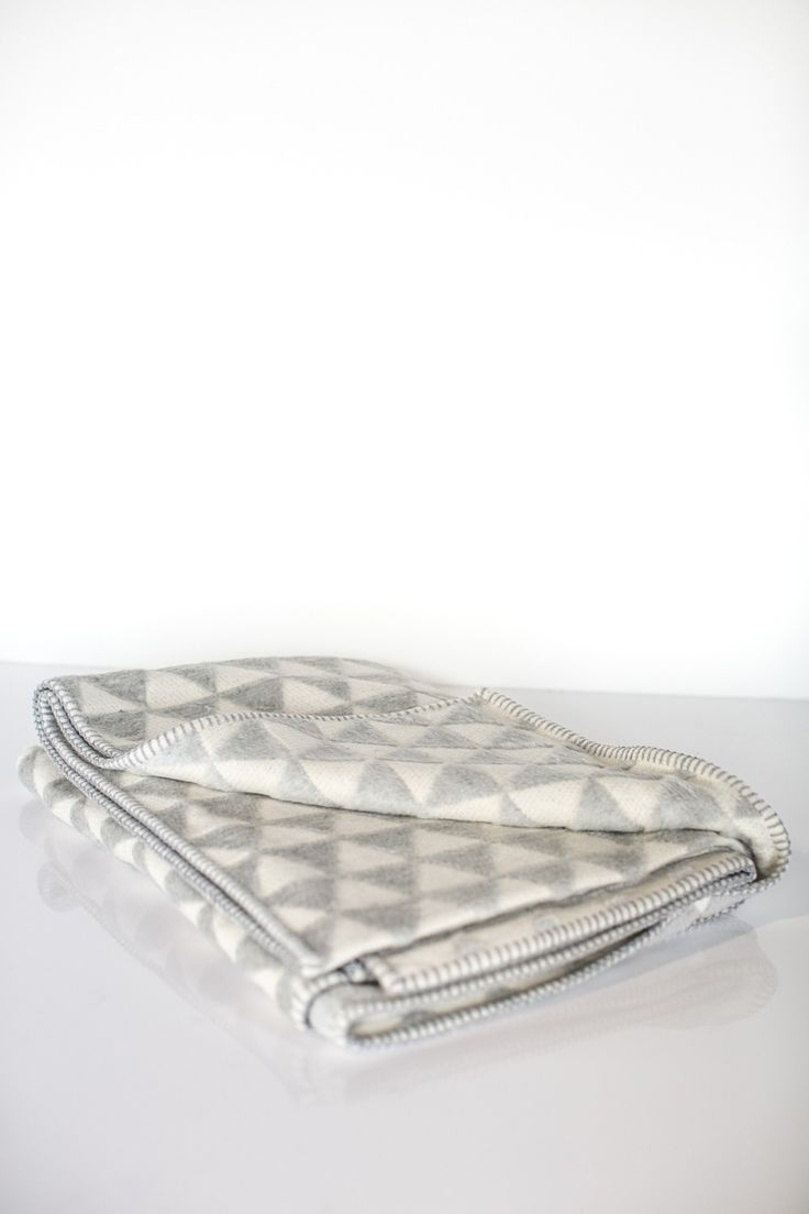 Bamboo Fleece blanket by David Fussenegger. We have an assortment of colours available in-store!
