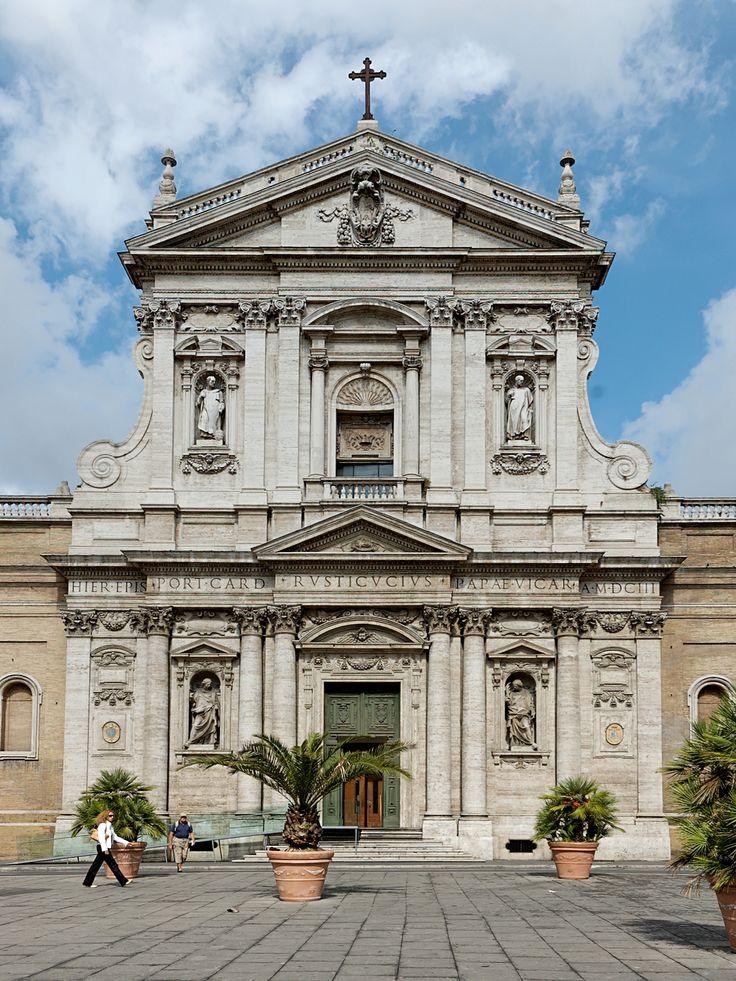 Carlo maderno fa ade de l 39 glise sainte suzanne de rome for L architecture baroque
