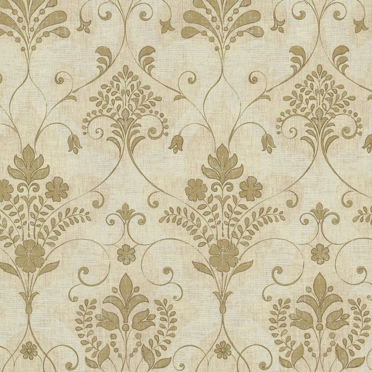 Beacon House Andalusia Damask Wallpaper Gold 261421036