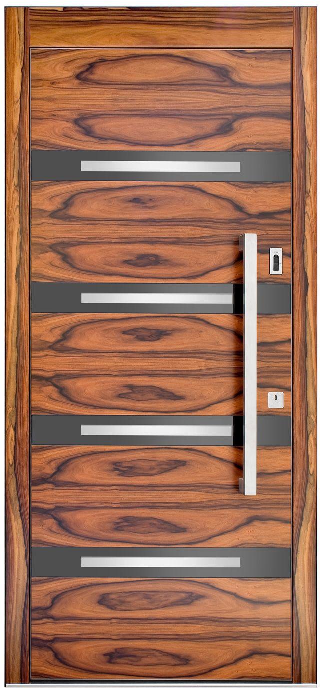 elegante Holzhaustüren Modell VIEW