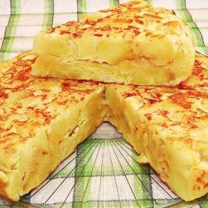Cómo hacer tortilla de patatas (cuajada) | Recetas de Cocina Casera - Recetas fáciles y sencillas