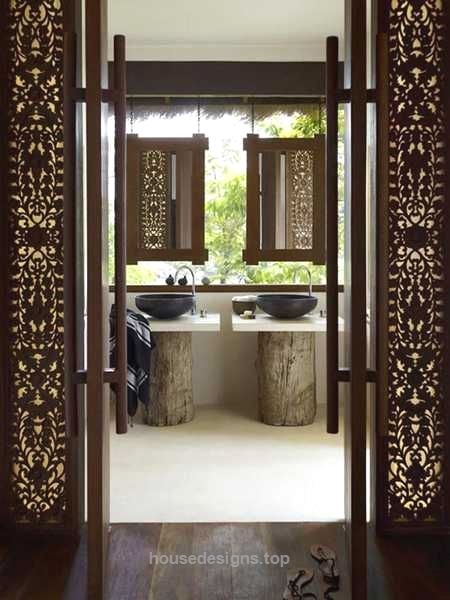 25 Best Asian Bathroom Design Ideas  http://www.housedesigns.top/2017/08/08/25-best-asian-bathroom-design-ideas/