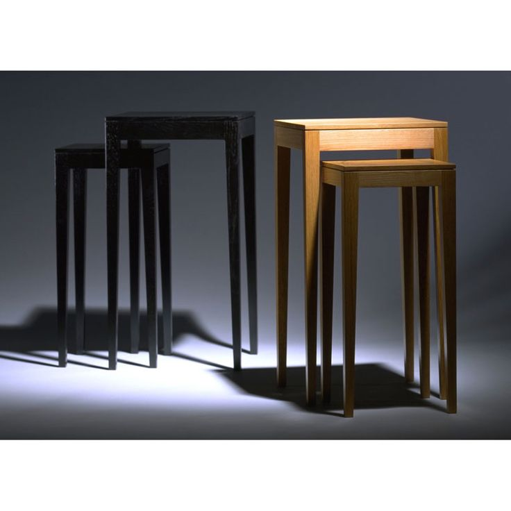 Nest of Tables by Anton Gerner - bespoke contemporary furniture melbourne