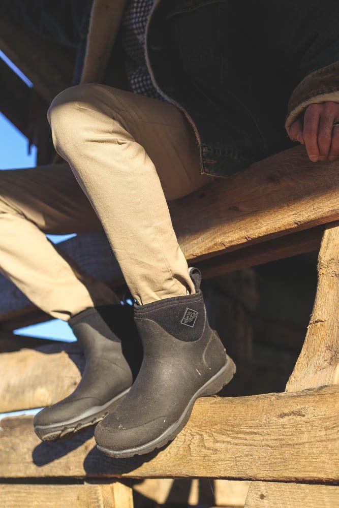 Black dress jeans mens muck boots