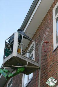 Fassadendämmung mit einblasbaren Steinwolleflocken von Ecofibre - Luftschichtdämmung - Kerndämmung - Hausdämmung - Wärmedämmung