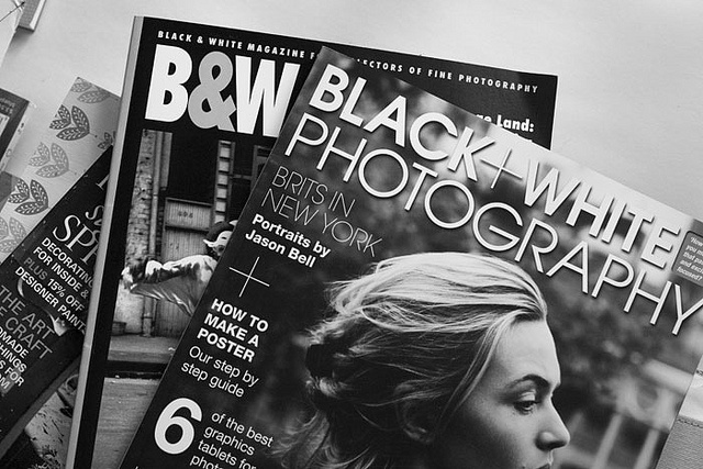 A couple of my favorite B&W photography mags.