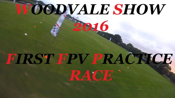 WOODVALE SHOW - THUG SQUEELER - LEARNING THE TRACK FPV part 1
