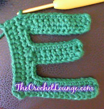 9 Best Crochet Alphabet Patterns Free Images On Pinterest
