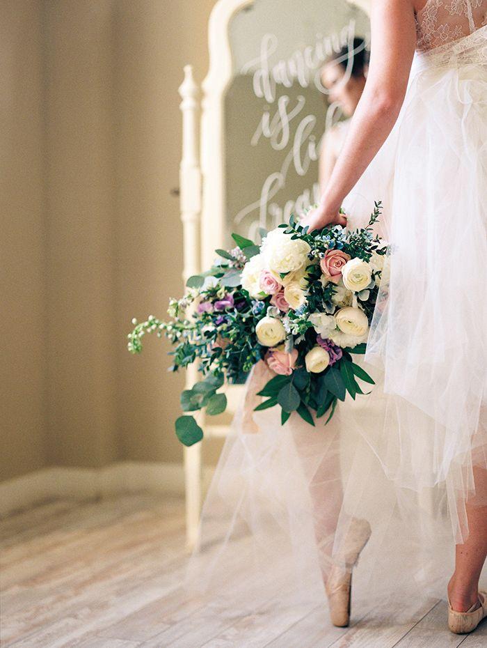Romantic Ballerina Bride Portraits