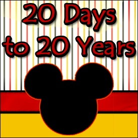 Come join us as we celebrate the 20th Anniversary of Disneyland Paris