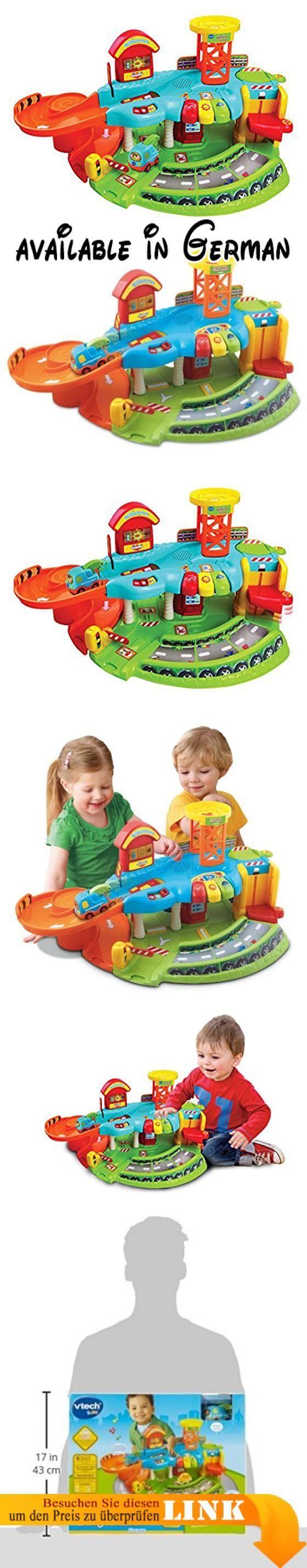 B004LUSI0E : VTech 80-124904 - Tut Tut Baby Flitzer - Garage. <b>Geschlecht:</b> Mädchen und Jungen. <b>Zielgruppe:</b> Kleinkind