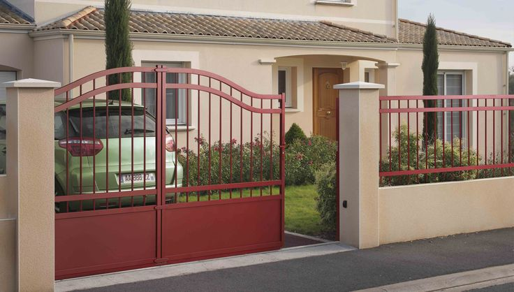 1000 images about portails automatiques on pinterest automatic gate opener rear extension. Black Bedroom Furniture Sets. Home Design Ideas
