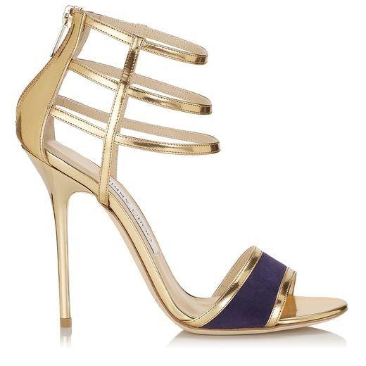 15 sandalias doradas con tacones de vértigo: perfectas para ir de boda