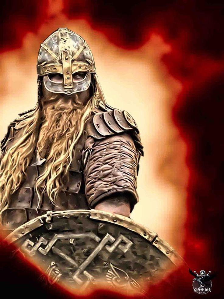 Viking warrior Jaroslav Novak by thecasperart on DeviantArt