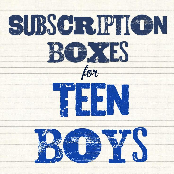 Subscription Boxes for Teen Boys - hello subscription