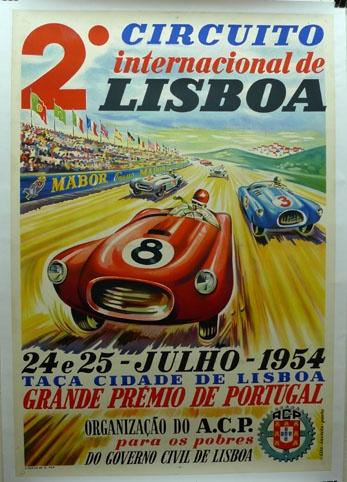 Grande Prémio de Portugal, Lisboa, 1954 | Portugal Cars | Portugal Car Hire | Lisbon Car Hire | Faro Car Hire | Algarve Car Hire - www.portugal-cars.com