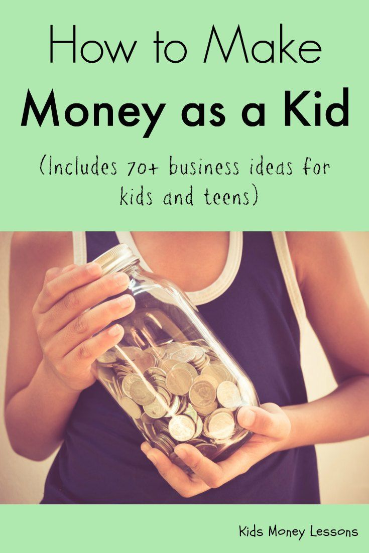 How to Make Money as a Kid: Whether you're a young kid or a teen, this is the ultimate guide to beginning your own business, getting a job, and making money. Includes 70+ business ideas.