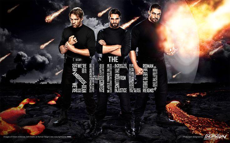 the shield wwe photos | The Shield - WWE Wallpaper (32971723) - Fanpop fanclubs
