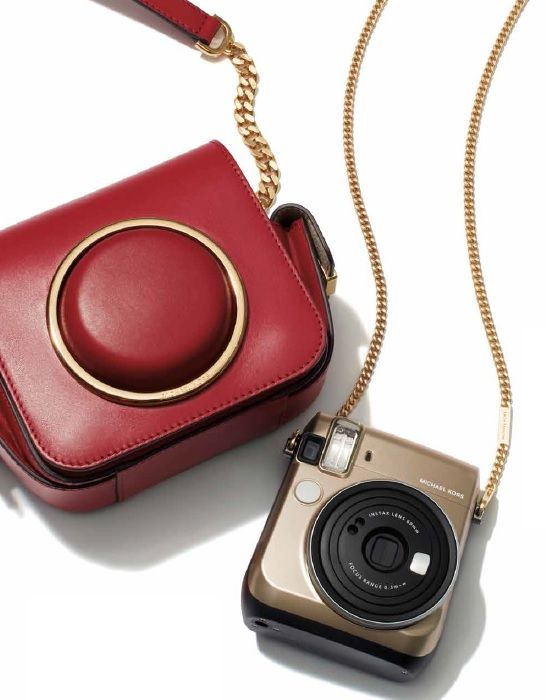 Fujifilm collaborates with world-renowned and award-winning designer Michael Kors in creating the limited-edition Fujifilm Instax Mini 70 camera.