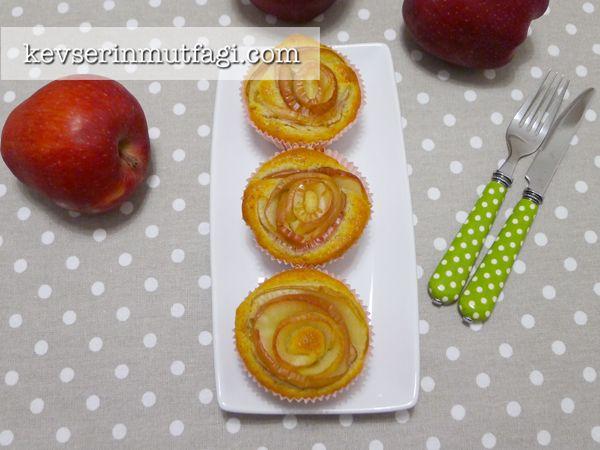 Elmalı Tarçınlı Muffin Tarifi Nasıl Yapılır? Kevserin Mutfağından Resimli Elmalı Tarçınlı Muffin tarifinin püf noktaları, ayrıntılı anlatımı, en kolay ve pratik yapılışı.