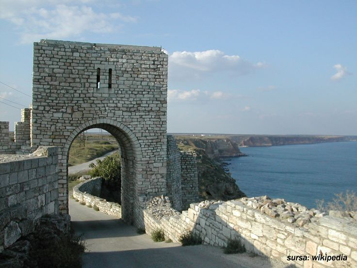 Cape Kaliakra, the entrance in the fortress
