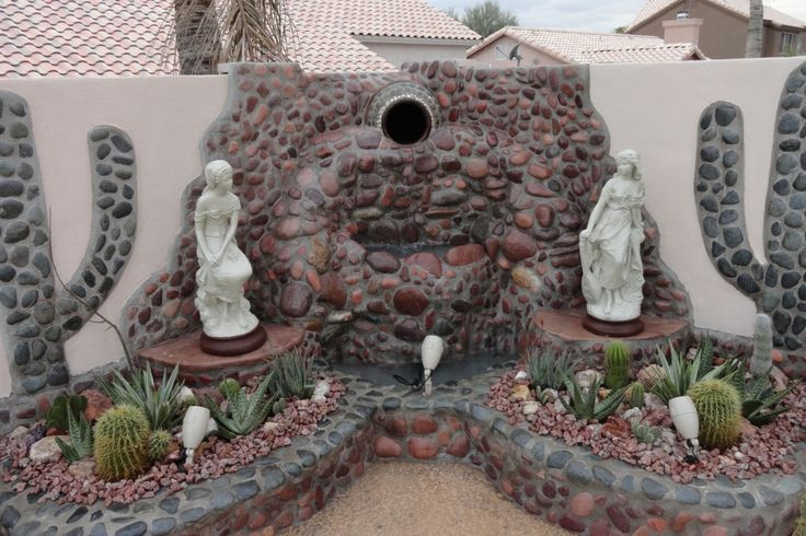 Cum să faci o fântână decorativă din piatră. Detalii pe BricoHub.ro