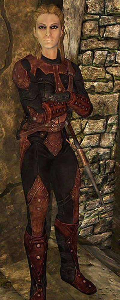 dark brotherhood skyrim huntress - Google Search