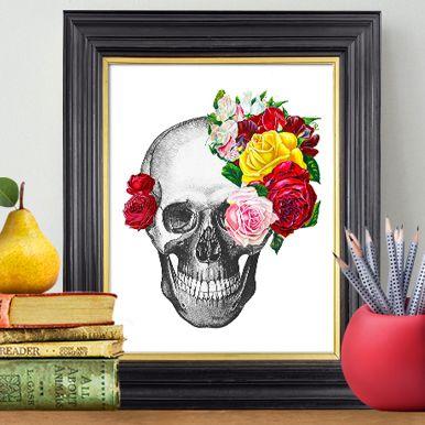 Limited Edition Prints from Rococco LA on POP.COM.AU now! Back by popular demand. #design #art #artprint #skull #skullart #popaustralia www.Pop.com.au
