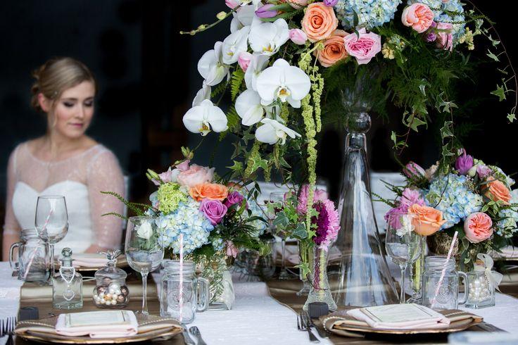 Blush and Gold. Photo by: Emily Exon Photography  www.emilyexon.com Flowers by: Flowers by Janie www.flowersbyjanie.com Venue: Azuridge Estate Hotel, Calgary/AB  Rentals/Decor: Great Events Rentals www.greateventsrentals.com Stationary by: Glimpze Invitations www.glimpze.ca #events #weddings #gold #blush #lace #chargers #flowers #tablescape #weddingdecor