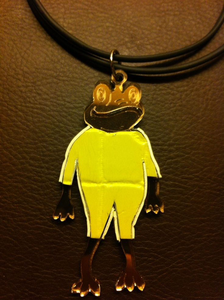 TecnoFrog - Plex amber and yellow skin acid - Neoprene strap