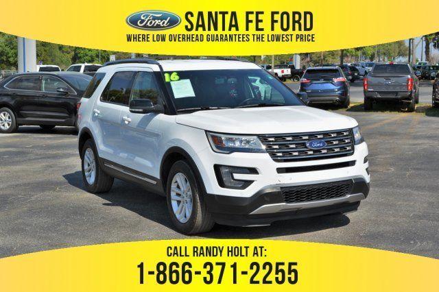 2016 Ford Explorer Xlt Fwd Suv For Sale Gainesville Fl 38615p