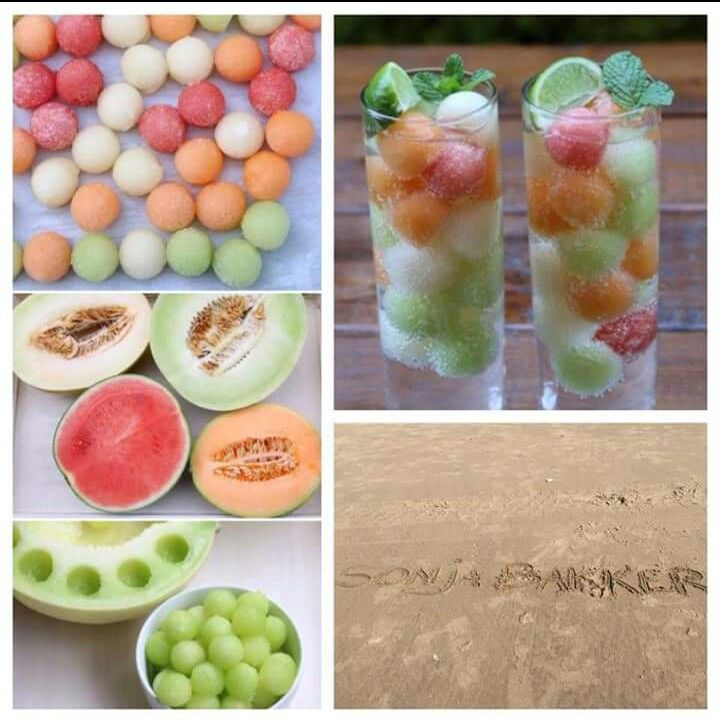 Healthy melon snack