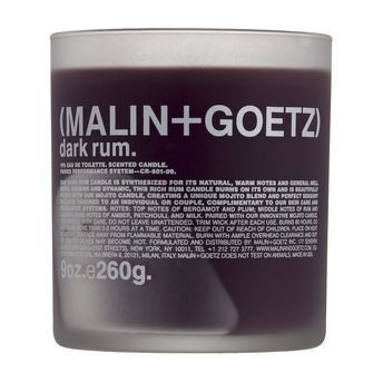 Dark Rum Candle by Malin + Goetz, $52